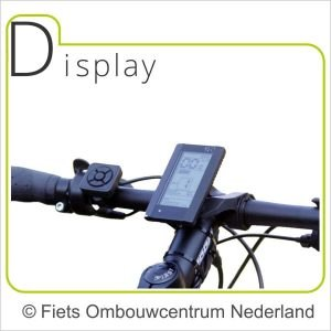 Ombouwset Middenmotor Bafang BBS Display 03