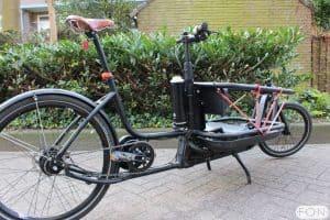 Douze Urban bakfiets met Pendix ombouwset FON Arnhem