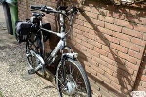 Gazelle Medeo met Bafang voorwielmotor ombouwset FON Arnhem