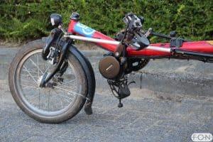 Hase Lepus met Bafang middenmotor ombouwset FON Arnhem