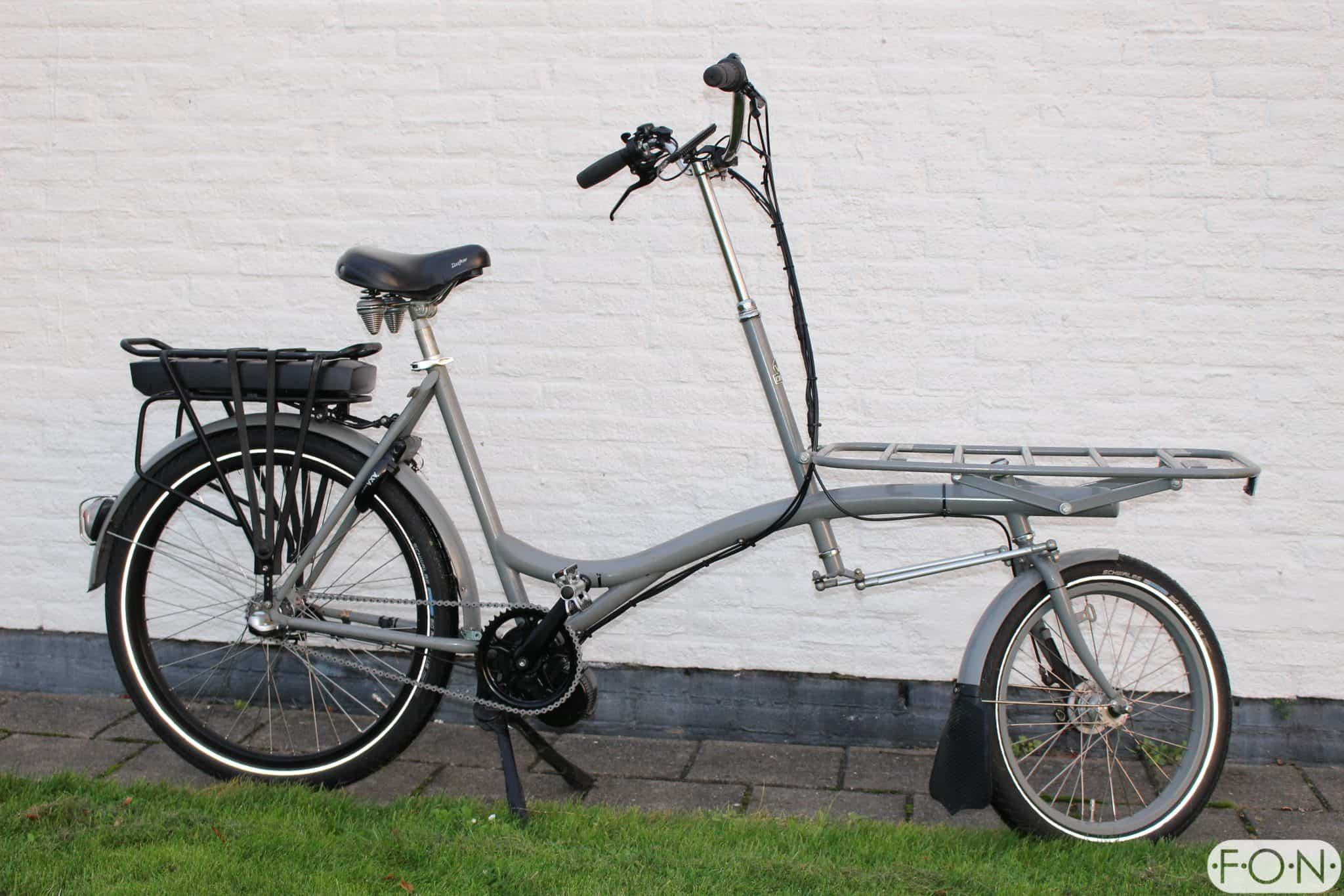 Kronan Transportfiets Bafang Middenmotor FONebike Arnhem 2551