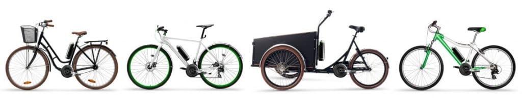 ombouwset elektrische fiets