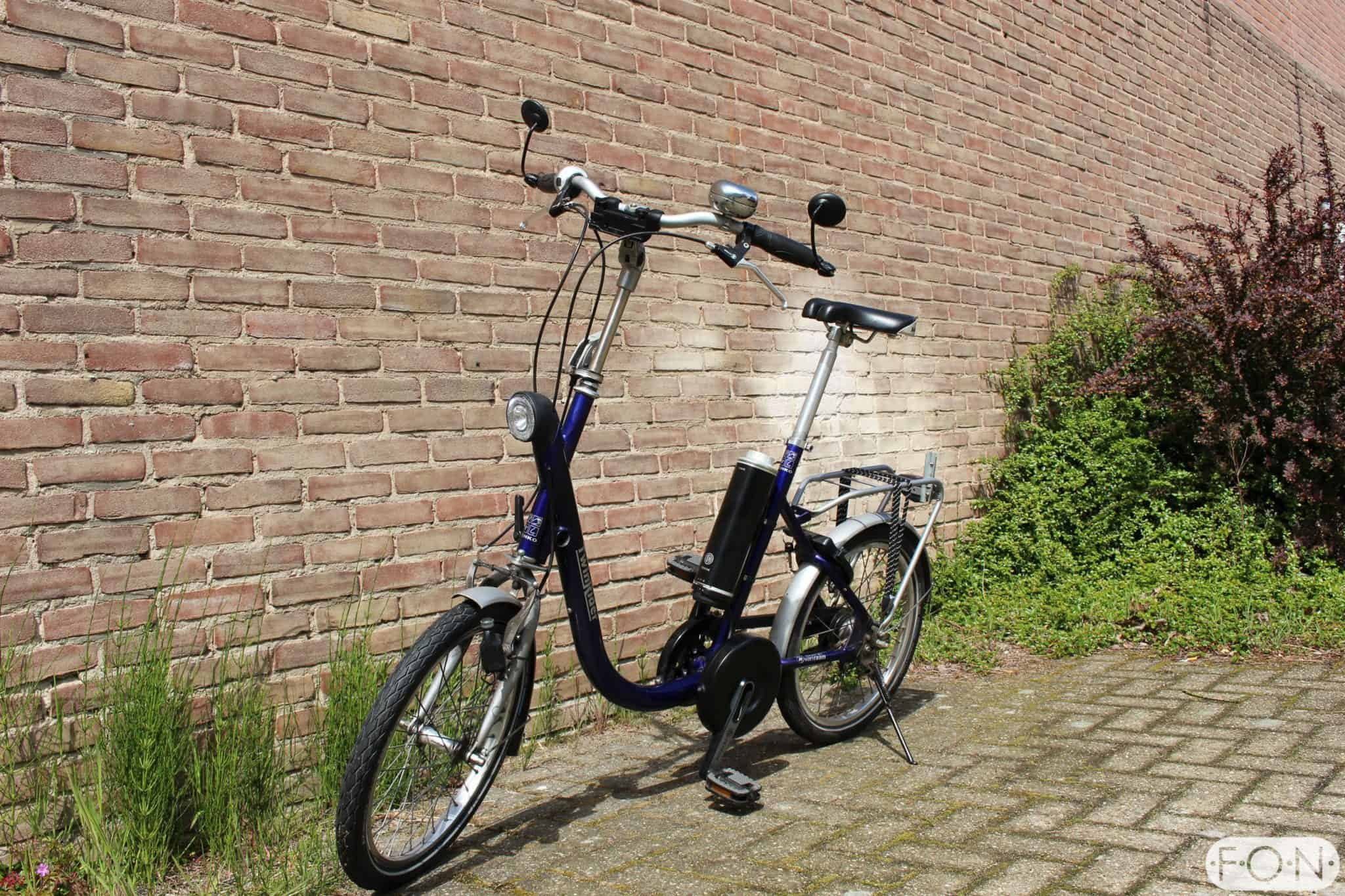 van Raam elektrisch maken met Pendix Middenmotor FONebike Arnhem 4179