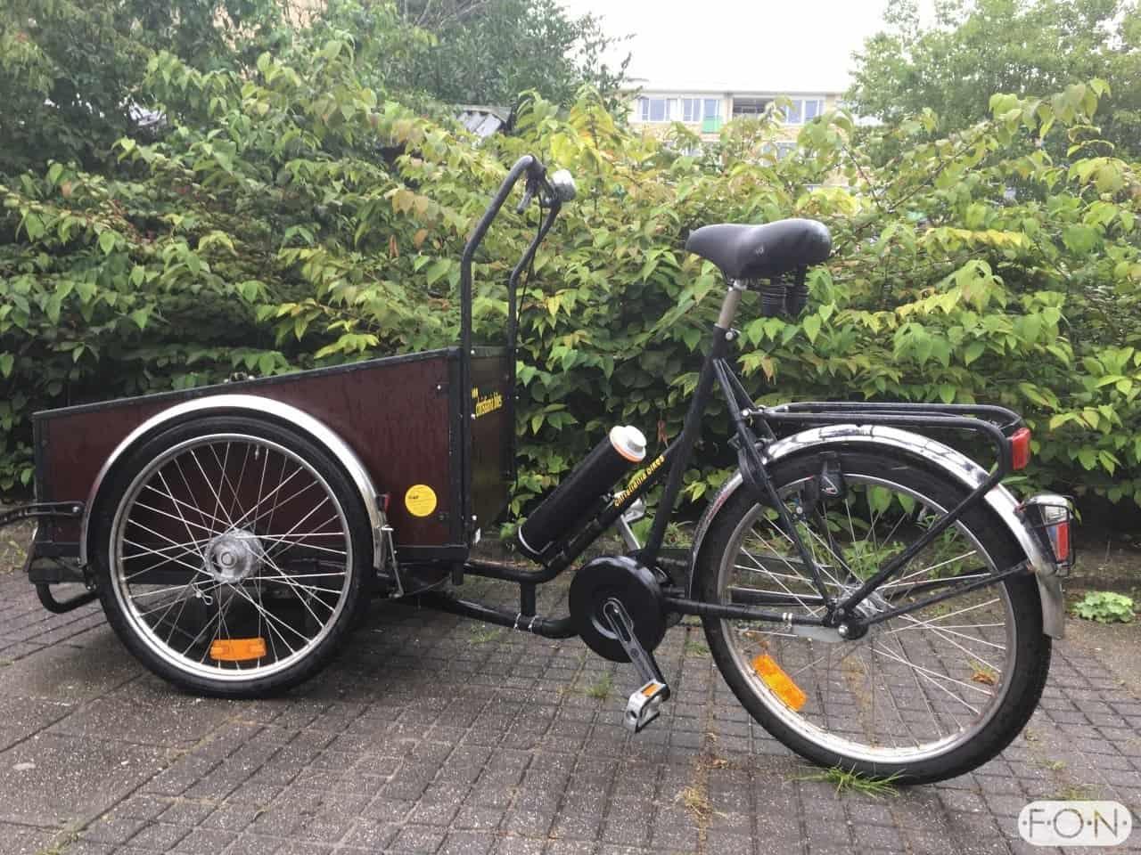 Christiania Rolstoelbakfiets Pendix eDrive Middenmotor FONebike Arnhem 0106