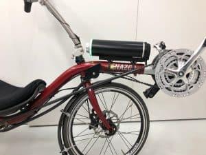 Nazca Fuego ligfiets ombouwen tot elektrische fiets FON Arnhem