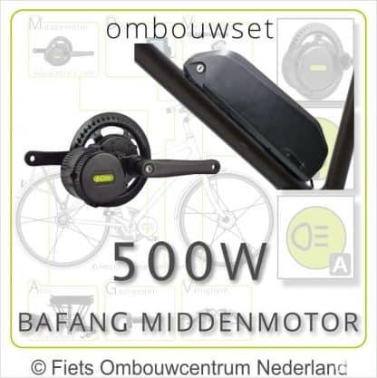Ombouwset Middenmotor Bafang BBS 500W Frameaccu 02