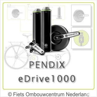 Pendix eDrive1000 overzicht 01